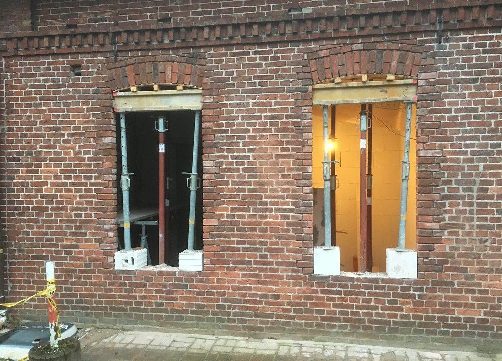 Fensterstützen