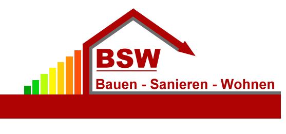 BSW Logo - Bauen - Sanieren - Wohnen